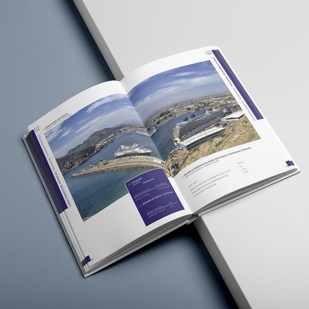 Memorias Autoridad Portuaria de Cartagena